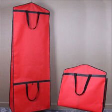 Red Large Garment Storage Bag Bridal Wedding Dress Anti-Dirt Cover Breathable SH