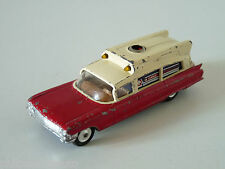 "ANCIENNE CORGI TOYS 437 "" SUPERIOR AMBULANCE ON CADILLAC CHASSIS "" ref 21101/59"