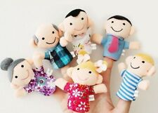 Story Finger Puppet Show 6 People Family Members Educational Toy Pretend & Play