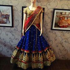 Best Selling Klash Blue New Fancy Designer Lehenga Choli for Girls & Women