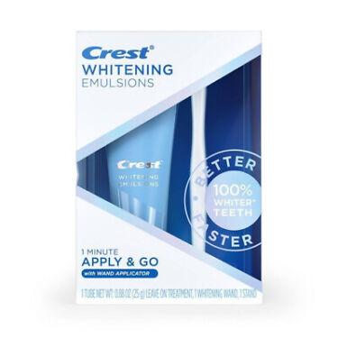 Crest Whitening Emulsions Leave on Whitening Treatment Exp 112022