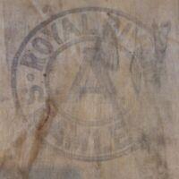 Vintage Royal River Seamless Feed Seed Bag Grain Sack