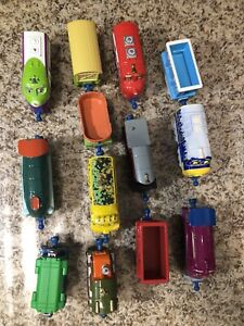 Chuggington 10 Train Lot with some trailers