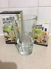JIM BEAM  GLASS FROM 2016 BNIB