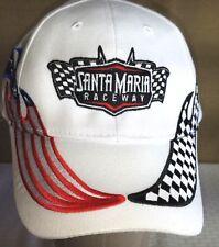 Vintage OTTO Brand Cap Santa Maria Raceway Hat One Size Fits All 100% Cotton