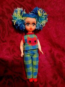 Vintage Custom Repainted Susie Sad Eyes Doll With Penny Brite Body