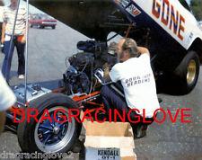 """Color Me Gone"" Roger Lindamood & His 71 Dodge Challenger Nitro Funny Car Photo!"