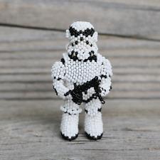 Native American Beadwork Zuni Beaded Storm Trooper Star Wars