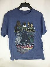 Star Wars Darth Vadar graphic Blue T-Shirt Size L