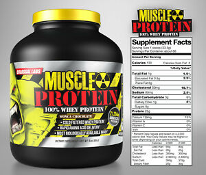 Colossal labs Whey Protein powder 10LB Monster Muscle isolate/blend 136 servings