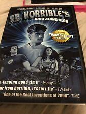 Dr Horrible's Sing Along Blog Dvd Signed Felicia Day