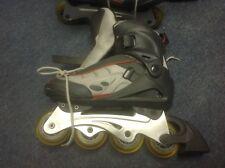 Sparks Rollerblades + Mongoose Helmet + Razor Pads
