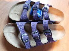 Birkenstock Florida Papillio Grace Violet  Leather UK5 eu 38 BNWB
