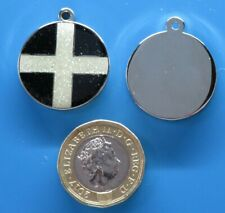 Expressions Engravers 25mm round Cornish glitter pet/dog tag