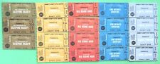 Vtg Barbie 1964 Little Theater Mint Original Play Tickets~Structure