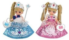 Takara Tomy Licca Princess Miki & Maki Twins Licca-chan Rika Dress up Girl Doll