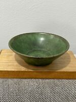 Small Studio Pottery Green Glazed Bowl / Ashtray