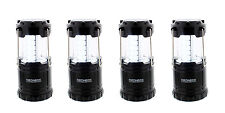 LED Lantern 4-Pack Portable Battery-Powered Camping Light for the Outdoors