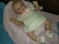 "Reborn Doll Skye, by Marita Winters, 19"", 4 Lbs."