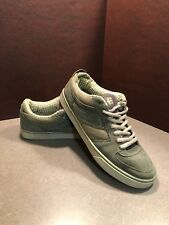 Etnies Olive Green Suede Lace Up Skate Shoes Mens Sz 11