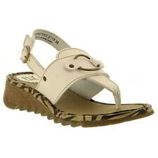 Fly London Tune Womens Ladies Wedge Toe Post Sandals Size 4-8