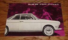 Original 1960 BMW 700 Coupe Sales Brochure Folder 60