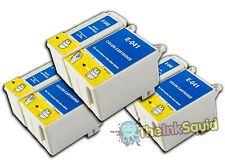 3 Conjuntos t040/t041 Compatible no-OEM Cartuchos De Tinta Para Epson Stylus C62 cx3250