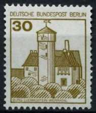 Berlin 1977-1987 SG#B518, 30pf Castles Definitive MNH Coil Numbered #D72771