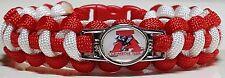 Alabama Crimson Tide; Bama Roll Tide Handmade Paracord Bracelet OR Lanyard
