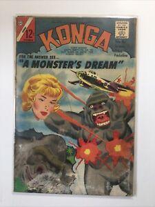 Konga 20 Good Gd Water Damage Charlton Comics