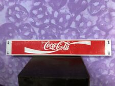 "Vintage Advertising Coca Cola Soda Pop 32 1/2"" Metal Door Push Bar Sign"