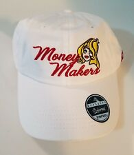 Black Keys Thirst Trap Money Makers Dad Hat Strap Back Cap White