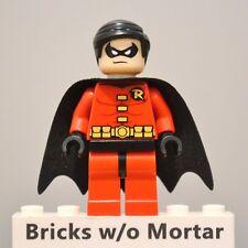 New Genuine LEGO Robin Minifig DC Super Heroes 6857 6860