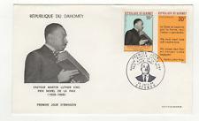 République du Dahomey 2 timbres sur lettre FDC 1968 tampon Cotonou /FDCa128