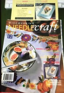 Discovering Needlecraft Magazine No:12 - Needlepoint-Cross-Stitch-Embroidery-App