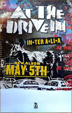 AT THE DRIVE IN In•Ter A•Li•A 2017 Ltd Ed RARE Poster +FREE Punk Indie Poster