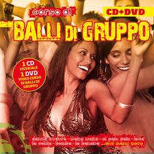 Corso Balli Di Gruppo CD + DVD Compilation musica e Guida agli esercizi