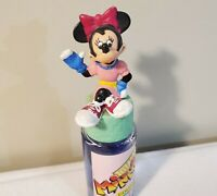 Vintage Avon Totally Minnie Cologne w/ Minnie Mouse Bottle Topper - 1988