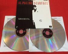 AL PACINO SCARFACE 1995 LASER DISC LARSERDISC