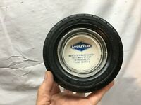 Vintage Goodyear Rubber Tire Advertising Ashtray (Waynesboro  Pa ) 6in diameter