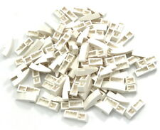 Lego Lot of 100 New White Slopes Sloped Curved 3 x 1 No Studs Pieces