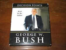 DECISION POINTS Audio Book by President George W. Bush 6 CD Set Abridged 2010