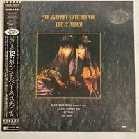 "Strawberry Switchblade The 12"" Album Korova P-6219 Japan VINYL LP OBI"