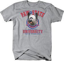Paw State University Skye Terriers Dog Custom Tshirt