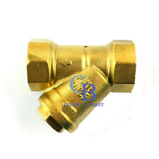 "4"" DN100 BSP Female thread Brass Mesh Strainer valve Inline Y Filter"