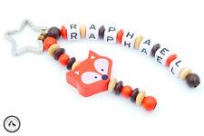 Taschenbaumler/Schlüsselanhänger mit Namen ★ Fuchs in beige/braun/orange ★ Neu ★