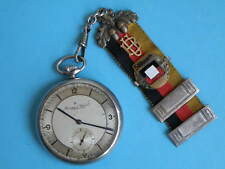 IWC SCHAFFHAUSEN POCKET WATCH military, WW2 for officers German navy STEEL