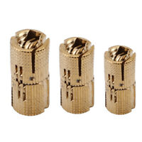 Copper Hinge Cylindrical Hidden Hinge Mount Wooden Furniture Hardware 8/10/12MM