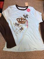 Girls Plus size XL 18.5 18 1/2 Shirt Arizona NWT