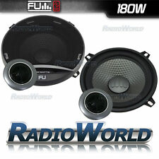 "FLI Underground 5.25"" 130MM 180w 2-Way Car Door Component Speakers Pair FU5 COMP"
